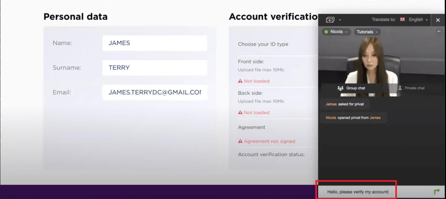 How to Register and Verify Account in Binarycent